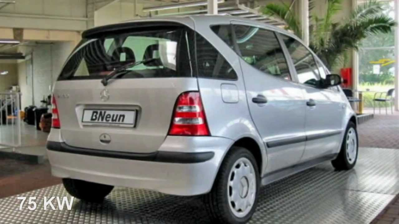 mercedes benz a 160 l classic 2003 polarsilber metallic 81947 youtube. Black Bedroom Furniture Sets. Home Design Ideas