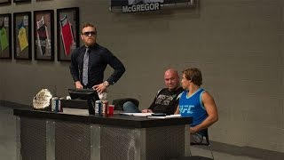 Watch the Conor McGregor-Urijah Faber exchanges from episode 1 of The Ultimate Fighter: Season 22. The Irish interim featherweight champion and the Team ...