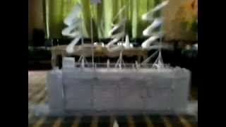 Origami A4 Papers-pirate Ship