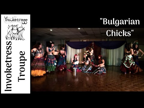 Balkan Bellydance Fusion to Bulgarian Chicks  Balkan Beat Box  Invoketress Dance Troupe