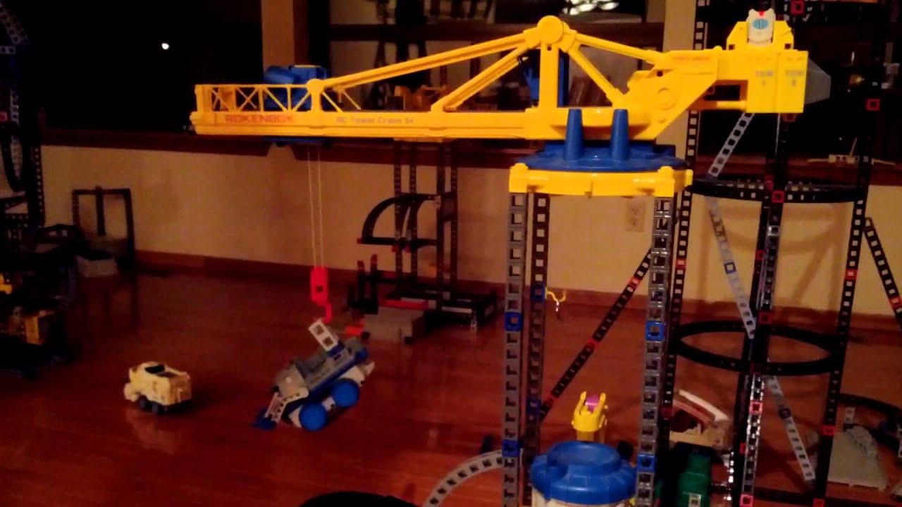 Tower Crane Inventor : Rokenbok tower crane