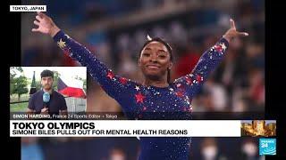 US gymnast Simone Biles withdraws from Olympics all-around gymnastics • FRANCE 24 English
