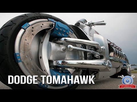 WOW! Watch Dodge Tomahawk Top Speed