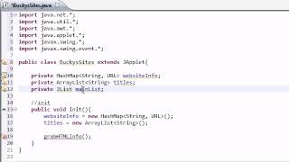 Intermediate Java Tutorial - 30 - init for Networking