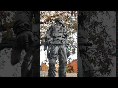 Irish Guardsman Statue In Windsor UK