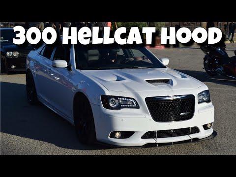 Hellcat Hood on Chrysler 300 SRT8 | Amerihood Ram Air Hood Unboxing & Review | Vlog