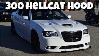 Hellcat Hood on Chrysler 300 SRT8 | Amerihood Ram Air Hood Unboxing & Review | Vlog