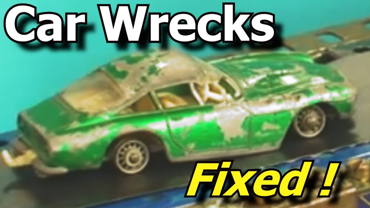 Wrecked Toy Cars Made Good