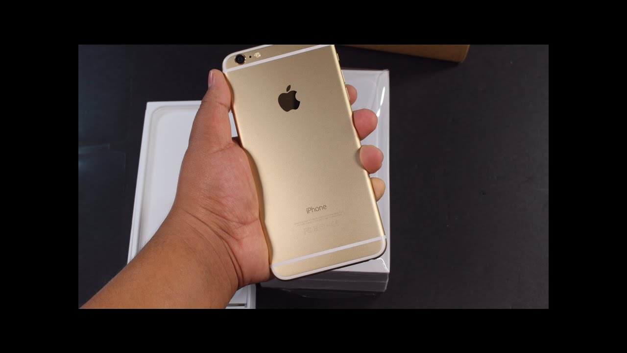 Apple iPhone 6 Plus 128GB Champagne Gold Verizon Model ...Iphone 5s Champagne Gold Unboxing