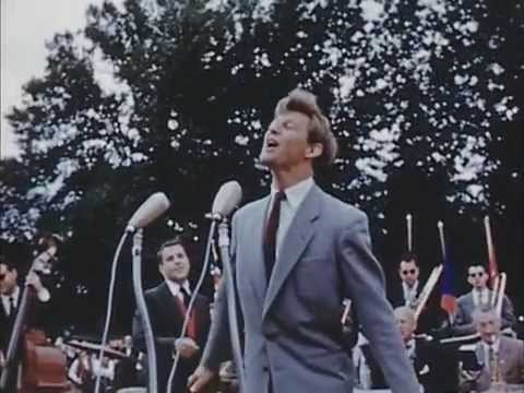 Svensk Godtemplarungdoms 50års-jubileum i Stockholm 1956 (Stumfilm)
