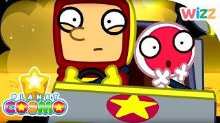 Planet Cosmo - Crater Racing | Full Episodes | Wizz | Cartoons for Kids