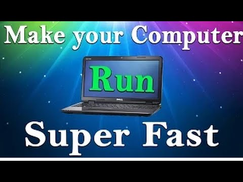 how to clean your laptop and make it run faster