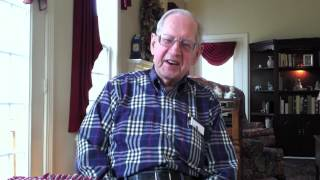 World War II and D-Day veteran Jim Samson