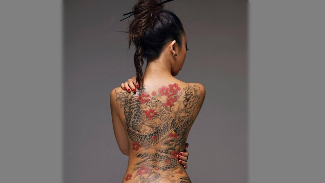 45e00aeb7 Best Chinese Dragon Tattoos for Women | TATTOO WORLD - YouTube