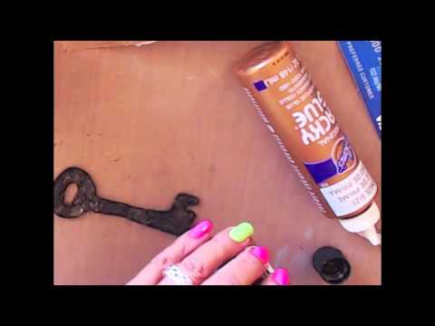 DIY Faux Metal