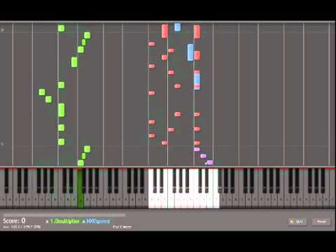 Synthesia  Neil Cicierega, Brodyquest key labelled