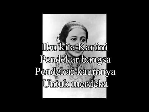 Musik Ibu Kita Kartini (minus one)