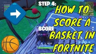 How To REALLY Score A Basketball Shot In Fortnite (IT IS POSSIBLE) NEW WAY