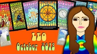 LEO OCTOBER 2018 Love Laughter Fun! Tarot psychic reading forecast predictions
