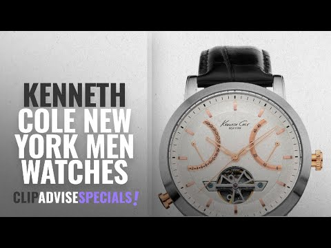 10 Best Selling Kenneth Cole New York Men Watches [2018 ]: Kenneth Cole New York Men's KC8014
