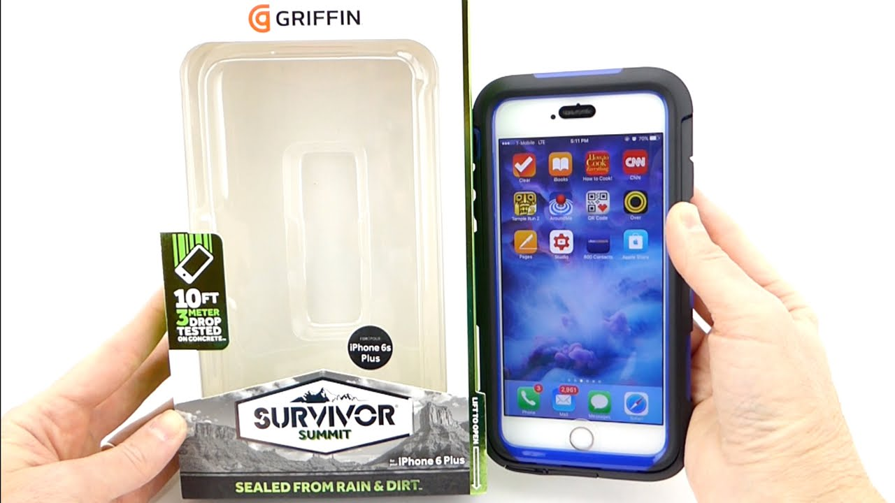 wholesale dealer 09fd1 a767f A Tough Case Which Doesn't Drive you Crazy? Griffin Survivor Summit for  iPhone 6s+!