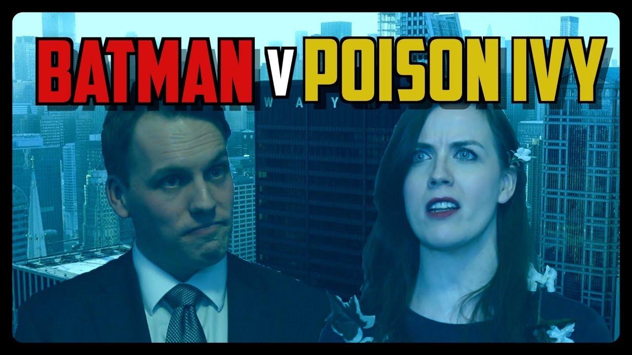 Sketch From Superheroes: Batman v. Poison Ivy
