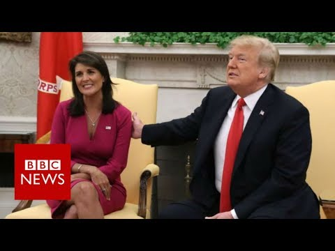 Nikki Haley: US ambassador to UN resigns - BBC News