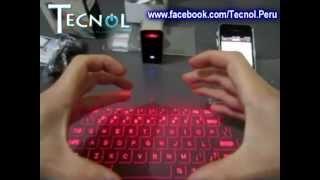 Teclado Laser - Magic Cube(Celluon)