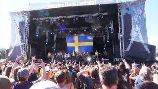 Sweden National Anthem - Astral Doors - Sweden Rock Festival 2018
