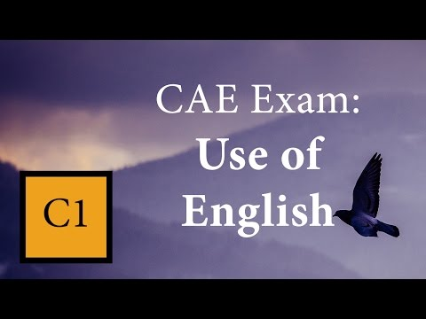 Use of English for CAE