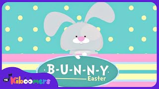 B-U-N-N-Y Song | Easter Bunny Songs for Kids | Bunny Songs for Children