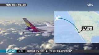 아시아나, 태평양 상공서 회항…공포의 3시간 / SBS