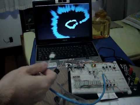USB Absolute Pointing Device implemented in ATmega8 using Magnetometer