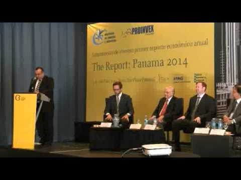 Oxford Business Group launch event: The Report: Panama 2014