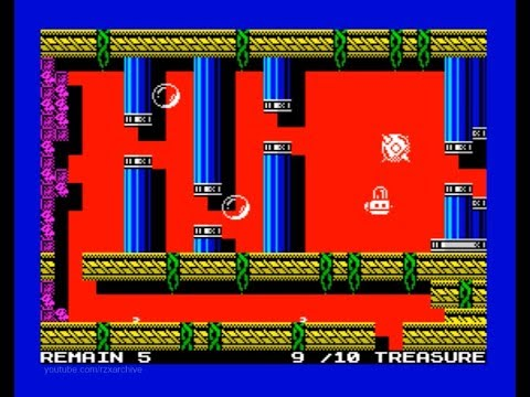 That Sinking Feeling Walkthrough, ZX Spectrum