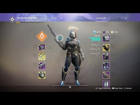 The Best New Hunter Build in Destiny 2! (Shards of Galanor) thumbnail