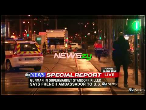 Watch the Moment Police Storm Paris Supermarket2:48 'NEWSzy'