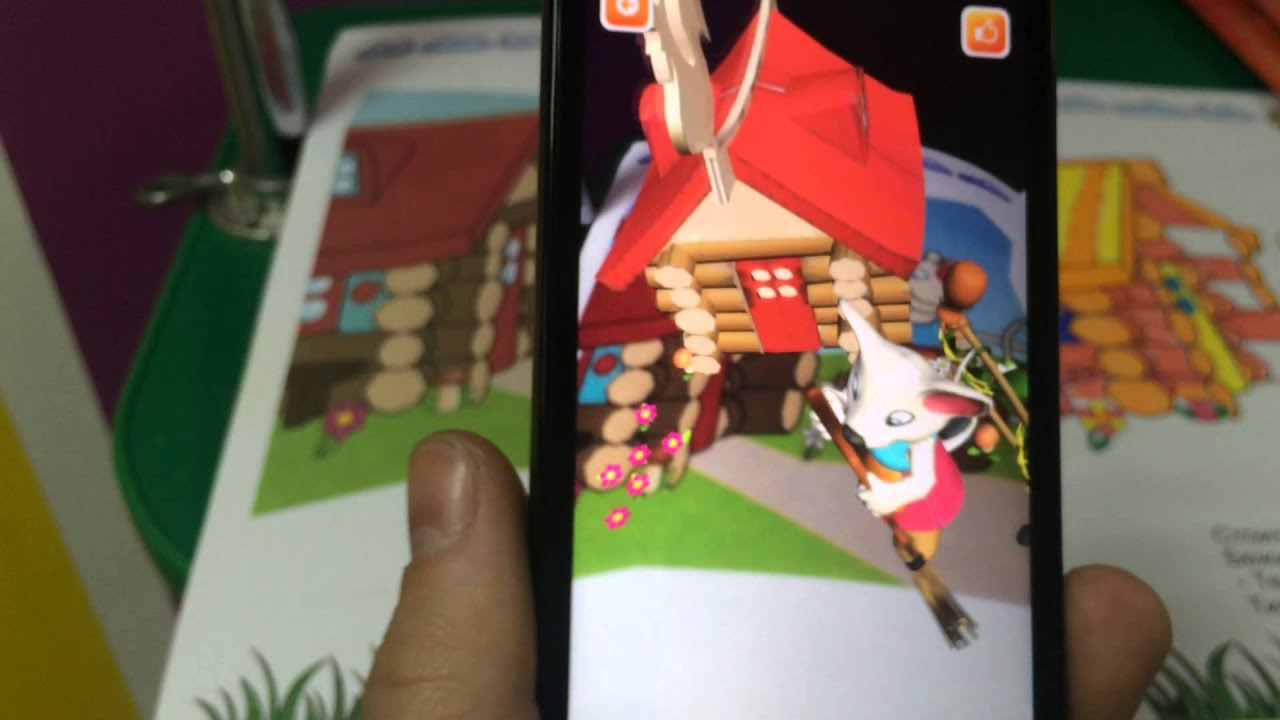 Сказки раскраски 3d видео