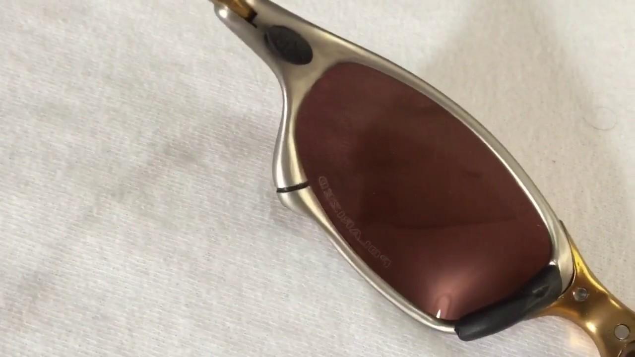f783f22b3 Óculos Juliet 24k Dourado - YouTube