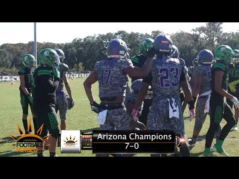 14U AYF NATIONALS | West Valley Champions Vs I.E. Ducks