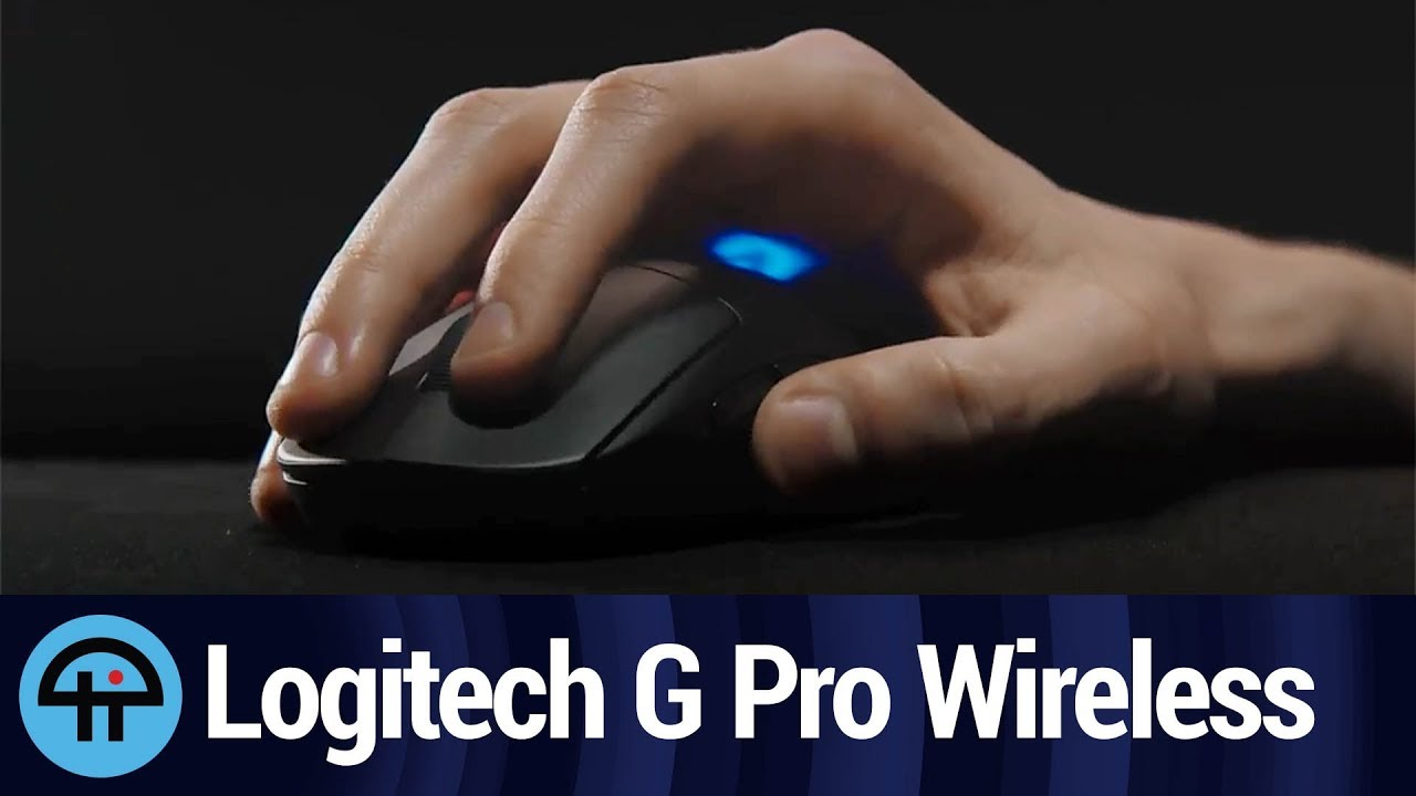 b890b85e5be Logitech's G Pro Gaming & Wireless Mice for eSports - YouTube