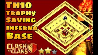 Clash Of Clans | Town hall 10 Trophy Base | Th10 Trophy Pushing Base | Tested Replays | Coc