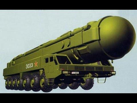 China unveils 14,000 km-range DF-41 ICBM