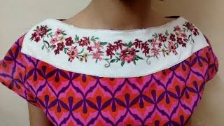 DIY : How To Make Boat Neck Top