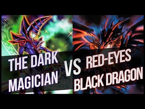 Yu-Gi-Oh Dark Magician vs Red-Eyes Black Dragon Theme Duel!