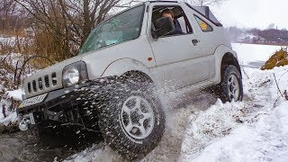 Коварный ручей. Subaru Forester vs Suzuki Jimny vs ГАЗ-69 vs Great Wall Safe. Offroad