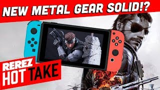 More Metal Gear Solid Games!? - Hot Take Game News