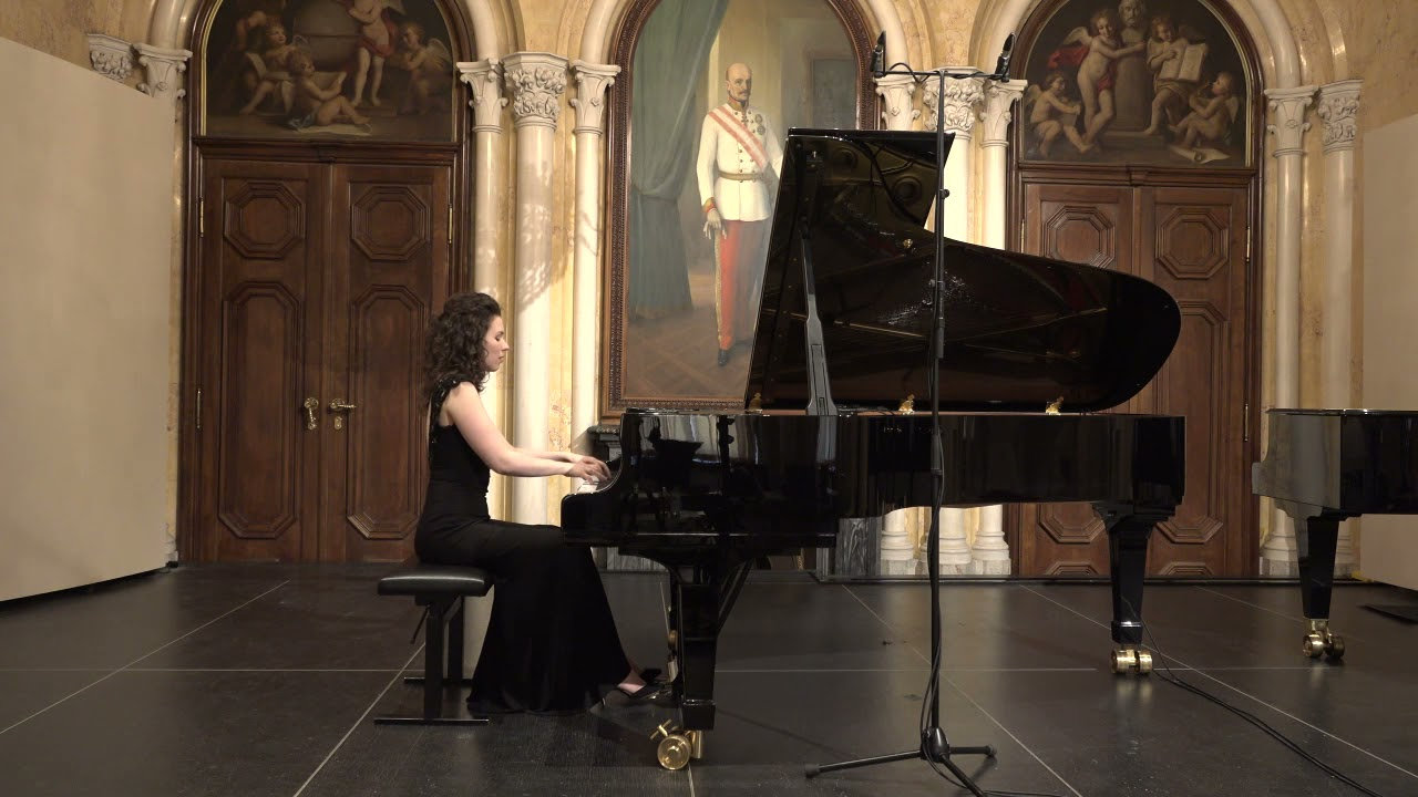 J.S.Bach - Prelude and Fugue in E flat minor BWV 853 | Alexandra Segal