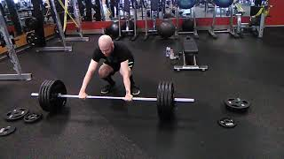 2x Body Weight Deadlift (410 pounds at 205 lbs)
