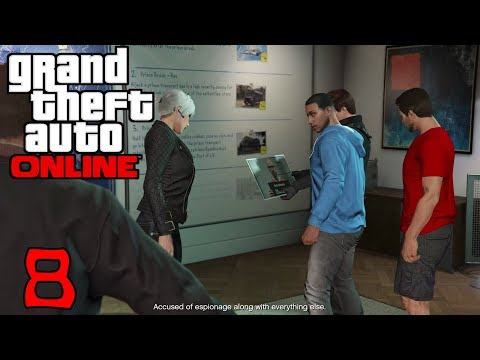 Grand Theft Auto Online #8 The Prison Break Setup Part 1